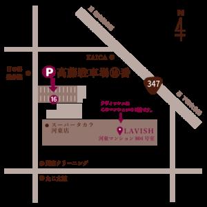 駐車場 略地図3